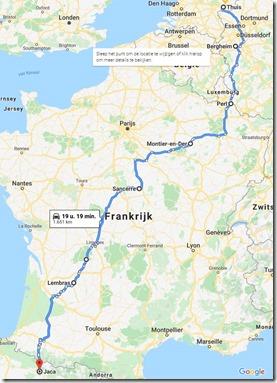 geplande route door frankrijkkopie
